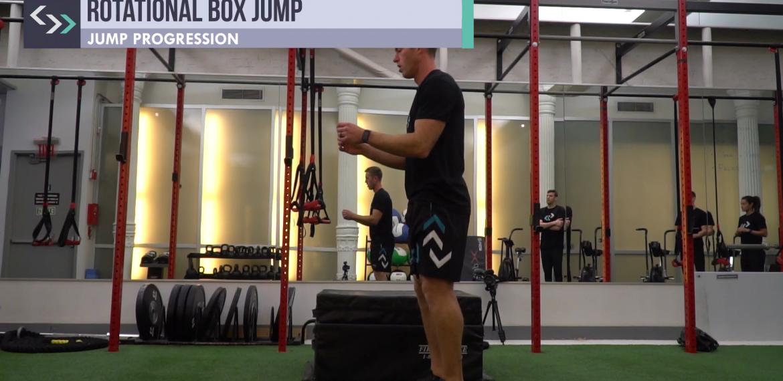 Rotational Box Jumps