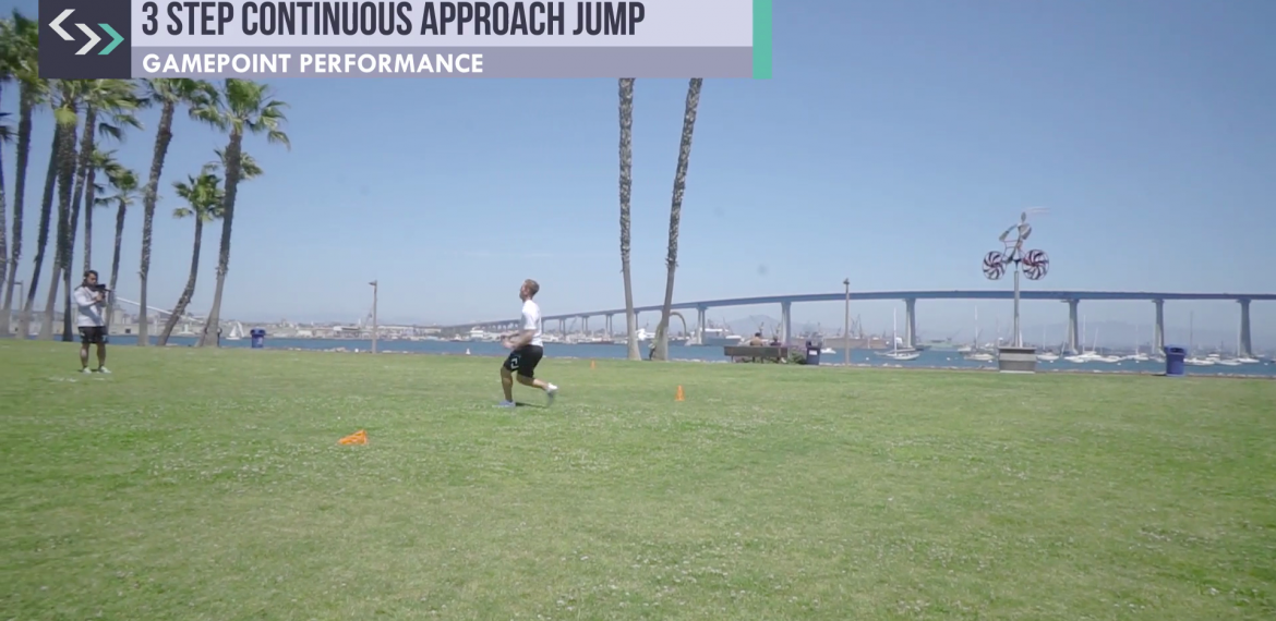 3 Step Continuous Approach Jump (field)