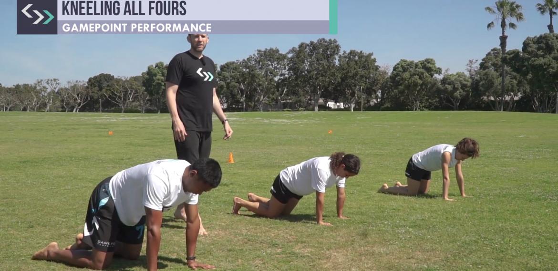 Kneeling All Fours (field)