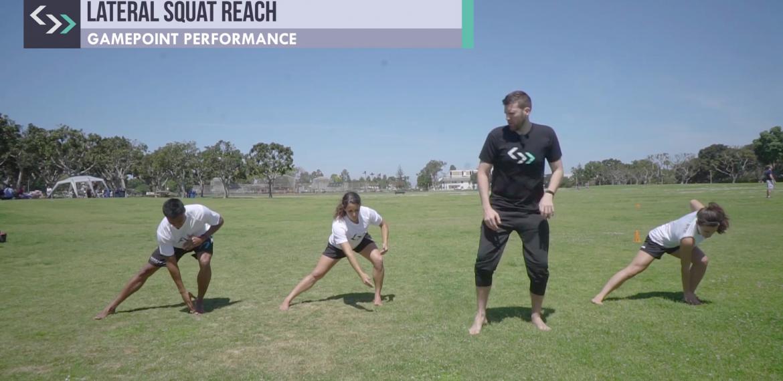 Lateral Squat Reach (field)