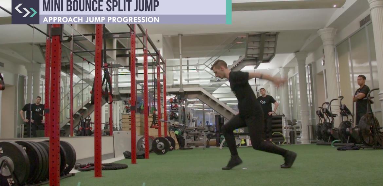 Mini Bounce Split Jump