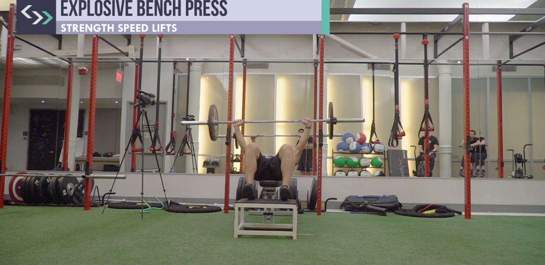 Explosive Bench Press