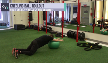 Kneeling Ball Rollout