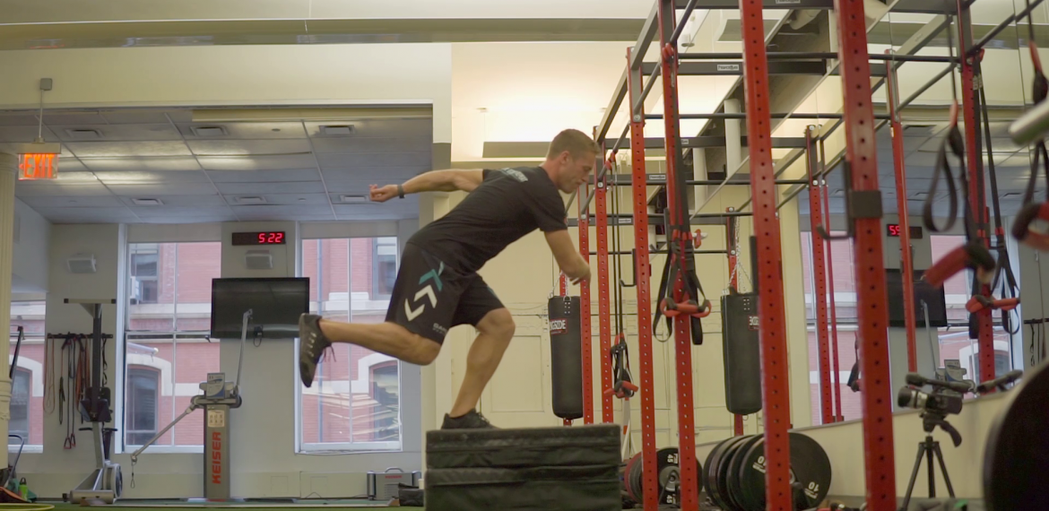 Two to One Rotational Box Jump Variations