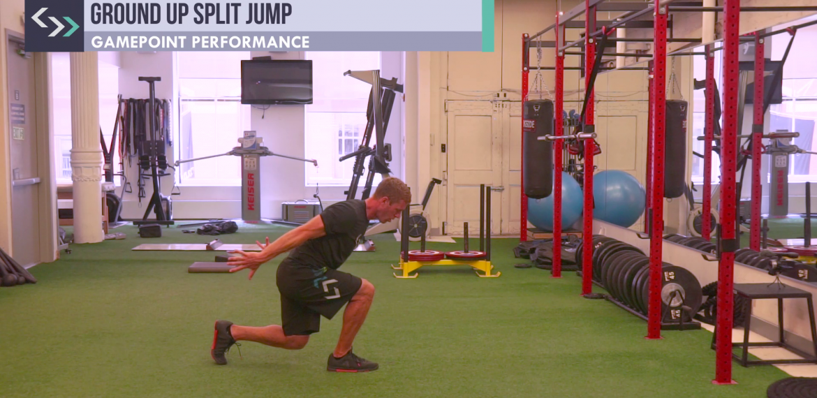 Ground Up Split Jump