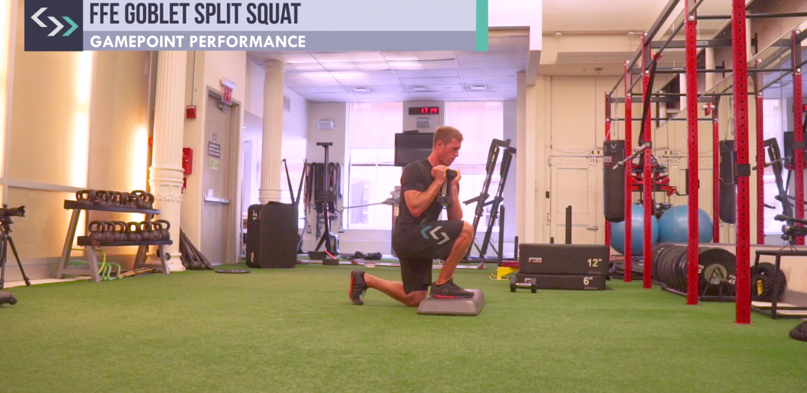 FFE Goblet Split Squat