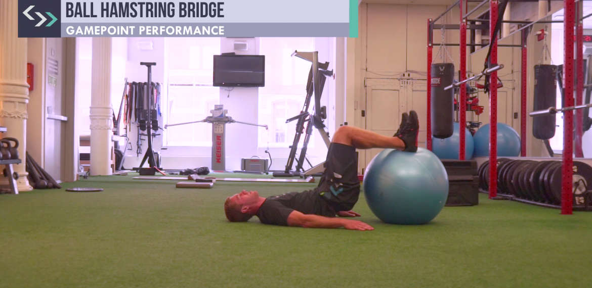 Ball Hamstring Bridge