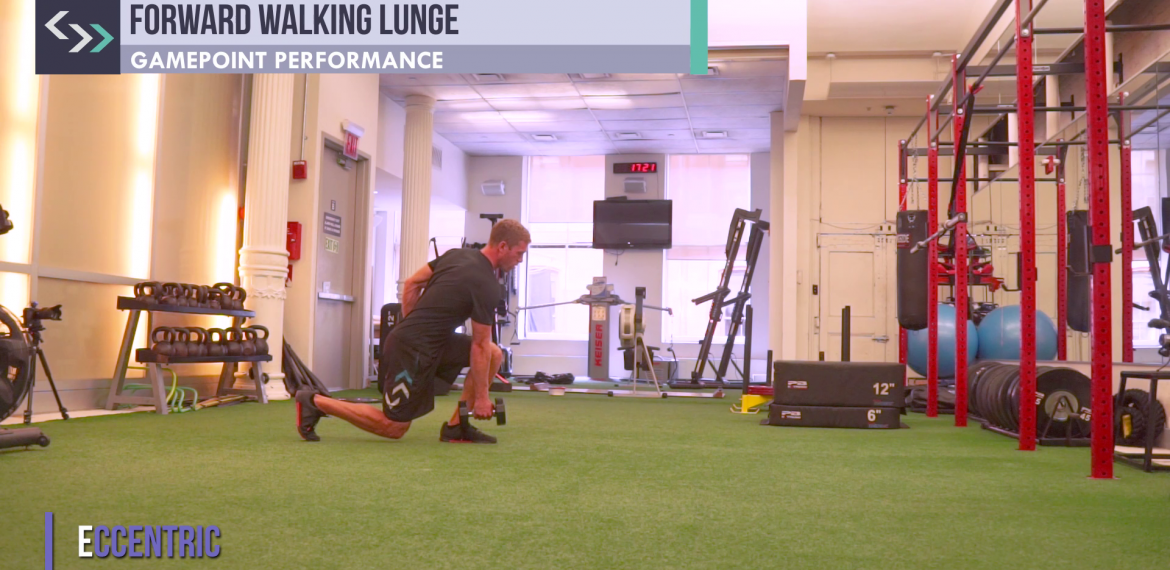 Forward Walking Lunge