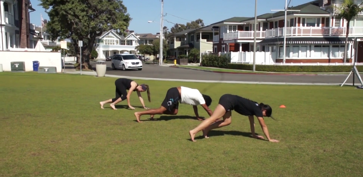 High Hip Reverse Crawl Field