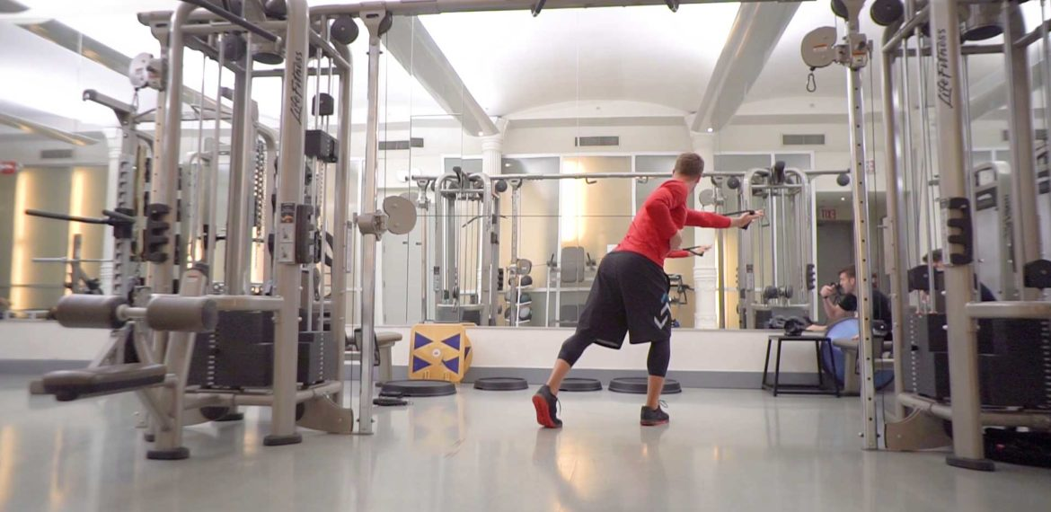 Lateral Rotation Pull to Punch