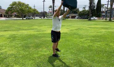 Stand Bag Reach Slow (Gymless)