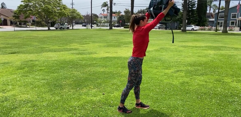 Split Stand Bag Reach (Gymless)